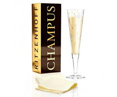 Ritzenhoff 1070224 diseño de copas de champán, copa de cava con servilletas, Ulrike Klaus, otoño 2015