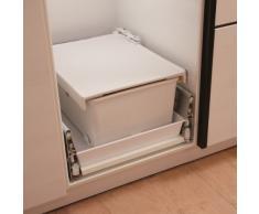 Ritter EBT - cajones de Cocina para Almacenamiento (Color Blanco, 10 kg, 36 cm, 46 cm, 22,5 cm)