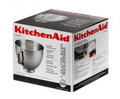 Kitchenaid K45SBWH - Cuenco de acero inoxidable para KSM90 / K5 / K45 / KSM150 (4,28 L)