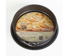 Life Style - Molde de Horno Desmontable con Bandeja y Doble Capa Antiadherente - 24 cms.