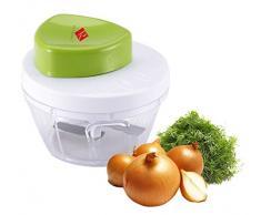 zerhacker con depósito colector - Multiusos Rallador - Multi Rallador de verduras Hacker - Mandolina - zerhexler - Multi Hacker - Cebolla