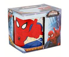 TAZA CERAMICA 325 ML CON CAJA | ULTIMATE SPIDERMAN NW