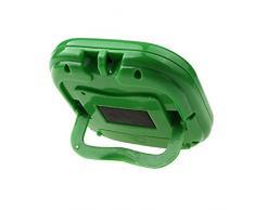 Cocina Temporizador - SODIAL(R)Magnetico cocina digital LCD cuenta atras hasta contador temporizador reloj despertador (verde)