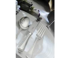 Arthur Price of England 44 piezas Con cuentas de 25 años bañado en plata Canteen Set de cubiertos 6 personas
