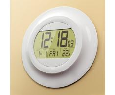 Balvi Dot - Reloj de pared digital con calendario y termómetro