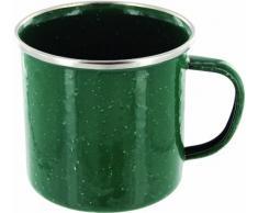Highlander Deluxe - Taza de acampada, color verde