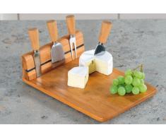 Kesper 50641 - Tabla de cortar queso (bambú, 30 x 20 x 8 cm)