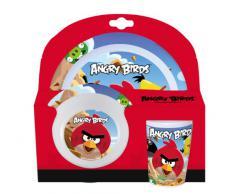 Angry Birds - Vajilla de melamina (3 piezas)