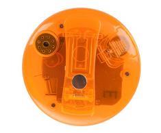 SODIAL(R) Temporizador Cronometro LCD Digital Magnetico para Cocina - Naranja