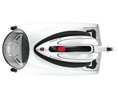 Bosch Sensixx DS38 VarioComfort9 Centro de Planchado, 25 W, 1.4 litros, 1.3, 0 Decibeles, Aluminio, Negro, Gris, Color Blanco