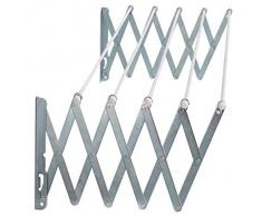 Oryx 5160305 - Tendedero extensible de pared, 1,20 m