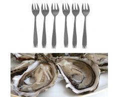 Tenedores de ostras x 6