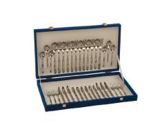 Monix London - Set 36 piezas cubiertos de acero inox 18/10.