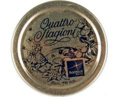 Bormioli – Juego de tarros de cristal Quattro Stagioni, formas y tamaños variados
