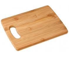 Fackelmann 37741 - Tabla de cortar(21,5 x 16,5 cm, bambú)