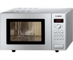 Bosch HMT75G451 - Microondas 800 W, 17 litros, Plata