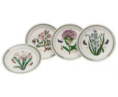 Portmeirion Botanic Garden - Juego de platos (6 unidades, 20 cm), diseño de flores