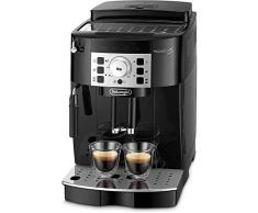 Delonghi Magnifica S - Cafetera Superautomática con 15 Bares de Presión, Cafetera para Espresso y Cappuccino, 13 Programas Ajustables, Sistema de Auto-limpieza, ECAM 22.110.B, Negra