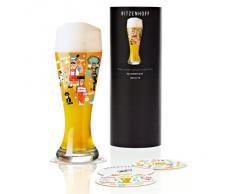 Ritzenhoff 1020174 - Vaso de cerveza, color multicolor