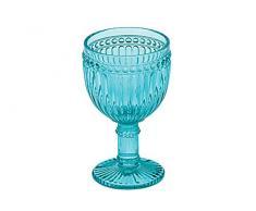 Anton Studio Designs Juego de 6 copas de vino Loire azul turquesa