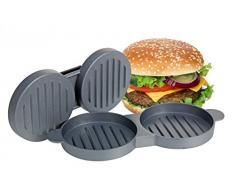Doble Prensa para hamburguesas – Aluminio – Hamburguesas – Prensa para hamburguesas – Hamburger Former – Doble Prensa – Utensilio de cocina