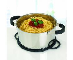 Emsa Smart Kitchen Utensilio De Cocina, Antracita/Silicona, Negro, 26 Cm, 1 Unidad