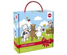 Emsa 509096 - Vajilla infantil, diseño de animales de granja