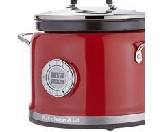 Kitchenaid 5KMC4244EER Empire - Robot de cocina (con mezclador), color rojo