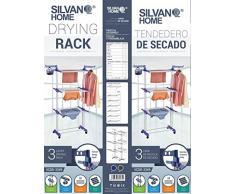 SILVANO Tendedero Vertical Xxl 3 Niveles