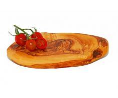 Madera de olivo Tabla de cortar/tabla de cortar 27 cm