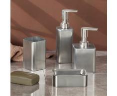 InterDesign Gia - Dosificador para jabón líquido, acero inoxidable pulido
