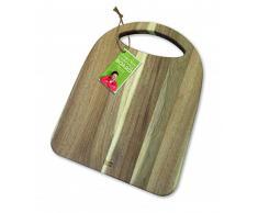 Jamie Oliver Acacia Madera Tabla de Cortar con Mango jc1300 formschönes de Servir y Tabla de Cortar de Madera de Acacia con Mango Integrado. Dimensiones: 38 x 29 cm