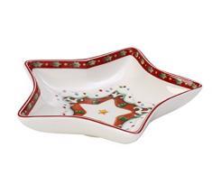 V&B 1486123269 Winter Bakery Delight - Plato con diseño navideño de estrella (13 cm)