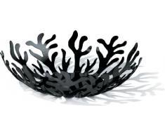 Alessi ESI01/29 B - Frutero de acero, color negro