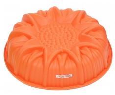 Molde de silicona para tartas de girasol - 24,5 x 6,5 cm (diámetro) - silicona - bandeja para el horno - para magdalenas - molde para tartas y bizcochos