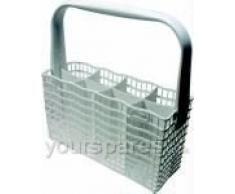 Zanussi Electrolux Aeg Slimline – Cesta de cubiertos para lavavajillas (, 8 compartimentos, DS17, DS22, DW905, DW915, DW925.. 230 mm de largo x 85 mm de ancho x 255 mm de alto incluye asa