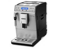 DeLonghi Autentica Plus ETAM29.620.SB - Cafetera Superautomática, 1450 W, muy estrecha, capacidad 1.4 L, pantalla LCD y panel táctil, acero Inoxidable, molinillo silencioso café, plateada