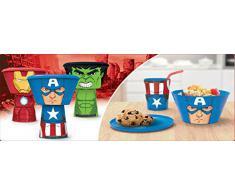 Set desayuno Hulk Marvel apilable