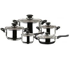 Magefesa Family - Batería de cocina, 10 piezas