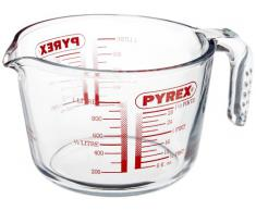 Pyrex Classic - Jarra de vidrio medidora de 1 l, apta para microondas