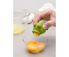 Separador de huevo - Rana verde
