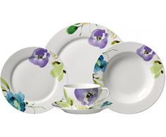 Ritzenhoff & Breker 035872 Fiorano - Vajilla de porcelana (30 piezas)