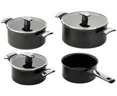 Tefal E45191 - Olla recta, color negro
