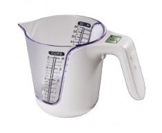 Xavax 00104983 - Vaso medidor y báscula de cocina 2 en 1