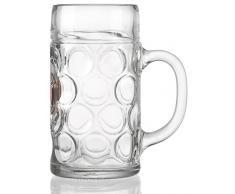 Ritzenhoff & Breker 118940 - Jarra de cerveza (1 L), diseño de Paulaner