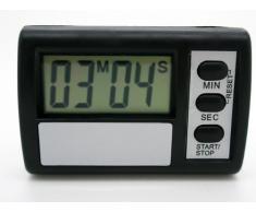 Reloj Temporizador Digital Cuenta Atras de Cocina Soporte Adhesivo LCD Pila 2274