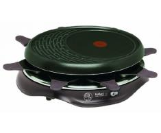 Tefal Simply Invent 8 RE5160 Raclette, 1050 W, Revestimiento Antiadherente, Violeta Oscura