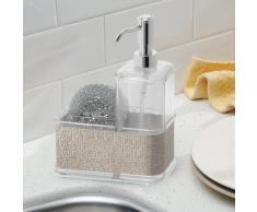 InterDesign Twillo - Estuche para dosificador de jabón líquido, color metálico