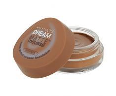 Maybelline Dream Matte 70 Cocoa Cazuela Crema - base de maquillaje (Cocoa, Piel mixta, Piel seca, Piel normal, Piel grasosa, Piel sensible, Mujeres, Cazuela, Crema, Suavizante)