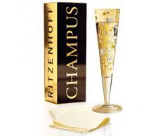 Ritzenhoff 1070184 - Copa de champán con diseño de mariposas
